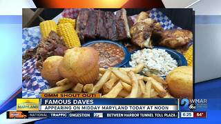 Good morning from Famous Daves! - Video