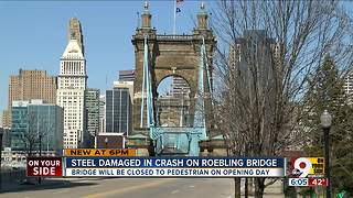 Roebling Bridge to be closed on Opening Day - Video
