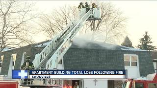'Everything was on fire': Blaze rips through Saukville apartment complex