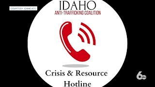Calls for help to Idaho's Anti-Trafficking Coalition has quadrupled; They're expanding their Crisis and Resource Hotline