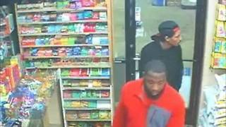 Suspects wanted in fatal gas station shooting