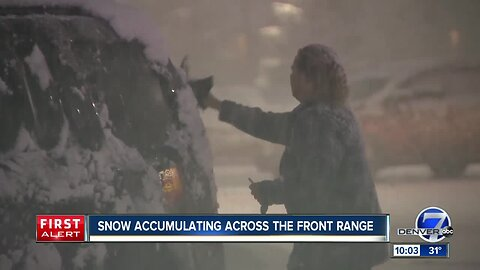 Late-season storm to bring up to 20 inches of snow to mountains; mix of snow and rain to Front Range