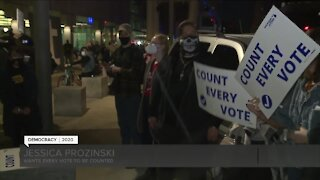 Ballot counting controversy at Detroit's TCF Center
