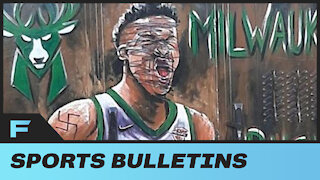 Giannis Antetokounmpo Mural Completely Vandalized In Stars Hometown Of Greece