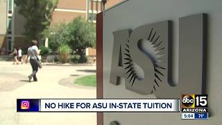 Tuition proposals released for 2018 for AZ universities - Video