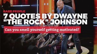 7 Awesome Quotes from The Rock | Rare People - Video