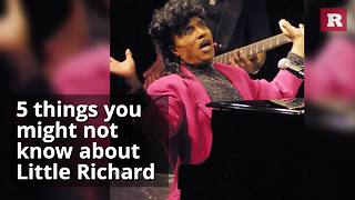5 things you might not know about Little Richard | Rare People - Video