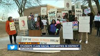 Student group wants more done on MPS racial disparity issue - Video