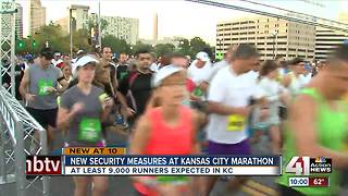 Organizers increase security at KC marathon - Video