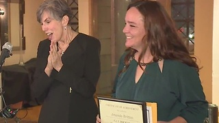 First graduate of F.L.Y. Human Trafficking program - Video