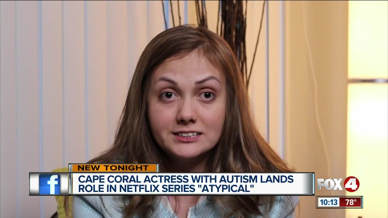 Local women lands role in Netflix Series