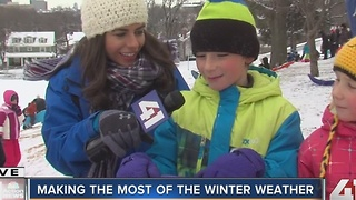Making the most of the winter weather - Video