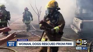 Woman speaks out after losing home in Valley fire - Video