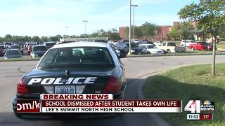 Student takes own life at Lee's Summit North HS - Video