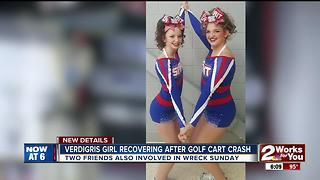 Verdigris girl recovering after golf cart crash - Video