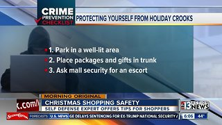 How to stay safe while out holiday shopping