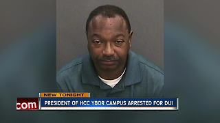 President of HCC Ybor City campus arrested for DUI - Video