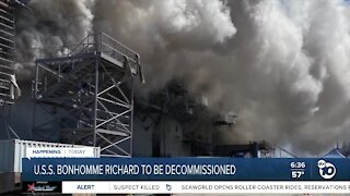 USS Bonhomme Richard to be decommissioned