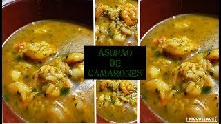 Mouthwatering shrimp rice soup recipe
