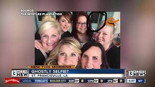 Ghost selfie going viral - Video