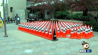Caltrans to remember workers killed on the job - Video