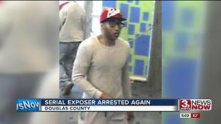 Arrest warrant issued for man accused of exposing himself at libraries