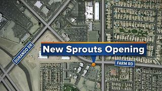 New Sprouts Farmers Market opening in Las Vegas