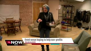 New event venue helps Milwaukee non-profits with free space rentals - Video
