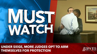 Under siege, more judges opt to arm themselves for protection - Video