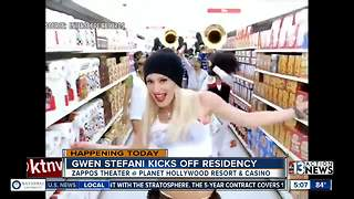 Gwen Stefani kicks off Planet Hollywood residency