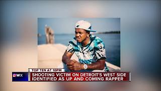 Detroit police investigating murder of rapper found in SUV on city's west side - Video
