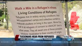 Tucsonans hear from refugees about their experiences - Video