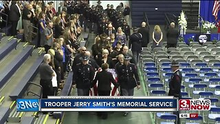 Trooper Jerry Smith's Memorial Service