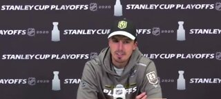 Marc-Andre Fleury responds to agents' tweet