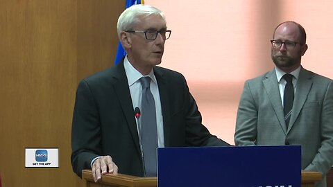 Gov. Evers talks gun control while in Green Bay
