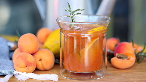 Tasty summer apricot punch recipe