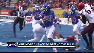 Boise State hosts Fresno State for all the marbles in the Mountain West Conference - Video