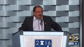 Rep. Grijalva arrested in front of Trump Tower