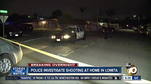 Man shot at San Diego house party, police say
