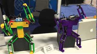 Bluetooth-Controlled Robots Put On a Funky Dance - Video