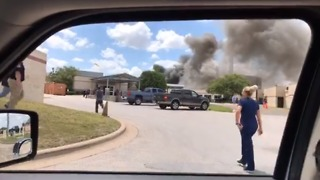 Several Injured After Explosion at Texas Hospital - Video