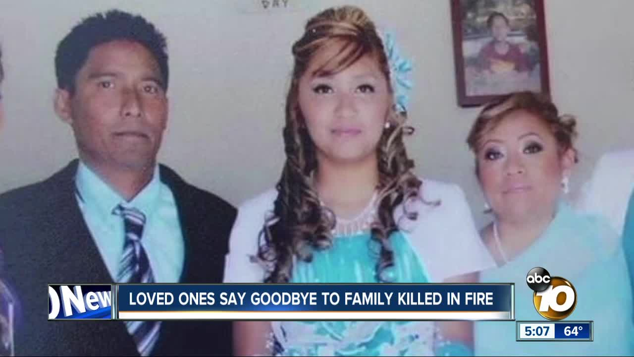Funeral held for house fire victims