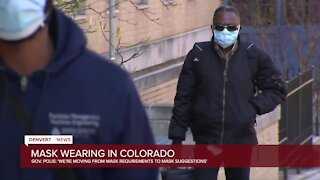 Polis: Colorado 'moving from mask requirements to mask suggestions'
