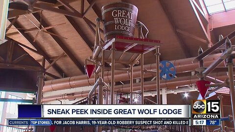 Sneak peek inside Arizona's Great Wolf Lodge