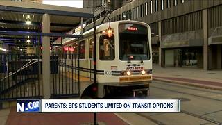 Parents: BPS students limited on transit options - Video