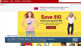 Back-to-school sales are still going strong: where you'll find great savings now