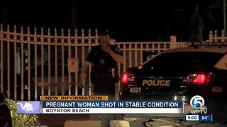 Pregnant woman shot in Boynton Beach - Video