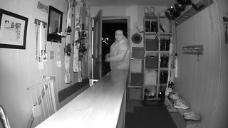 WATCH: Creepy video of person breaking into Ellicottville home - Video