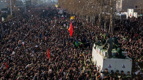 Stampede in Iran During Soleimani's Funeral Kills at Least 56