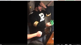 Epic Ending To Saran Wrap Ball Party Game - Video